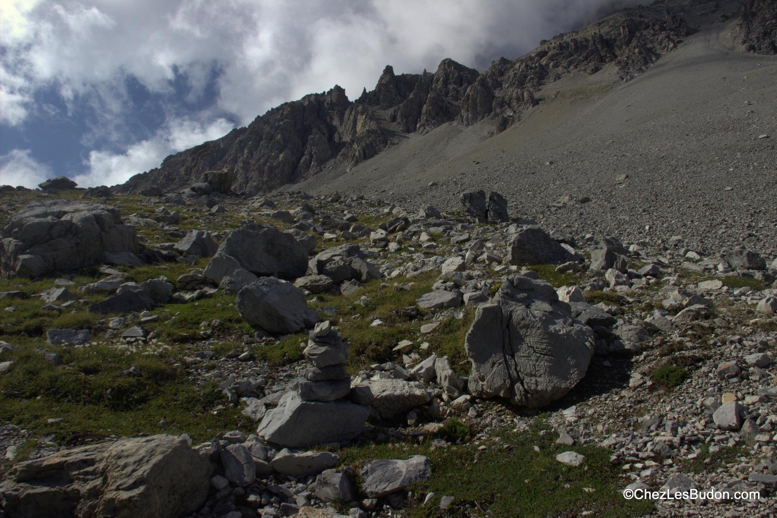 Col de la Roue (2543m), Replanette (2338m), Vallée Étroite (2434m)