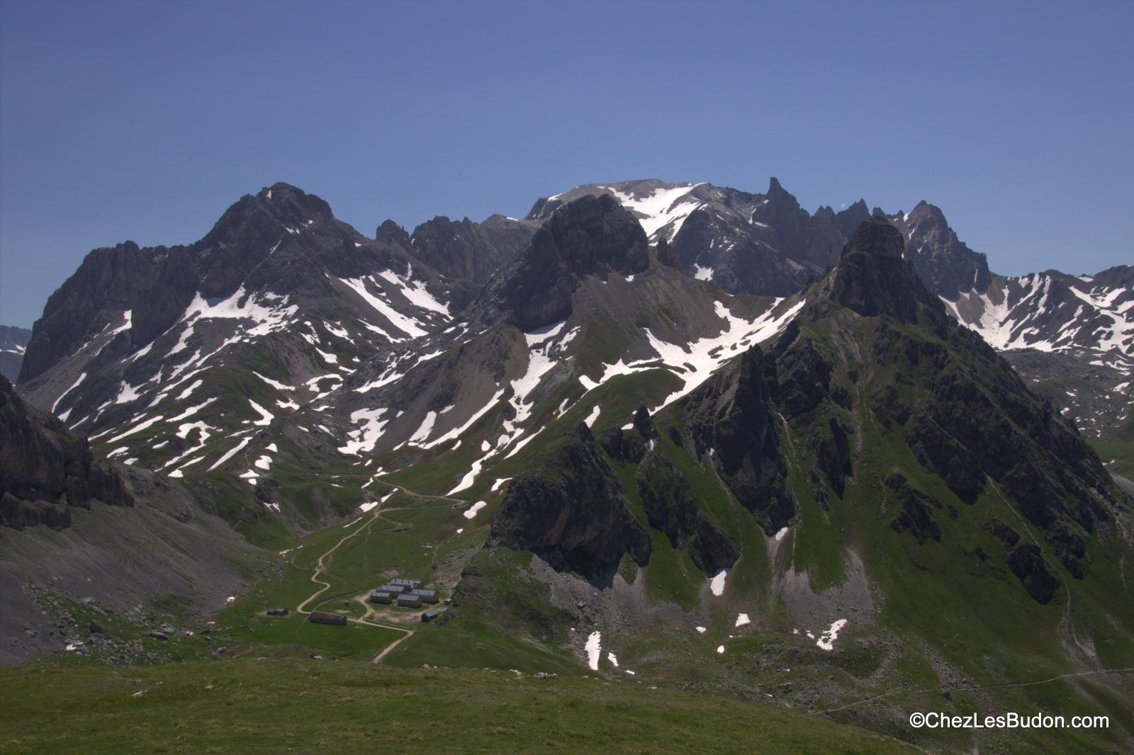 Côte Vieille (2611m), col des Rochilles (2491m), col des Cerces (2574m)