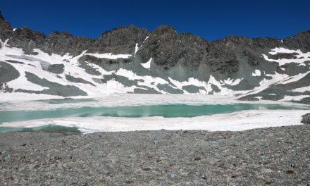 Lac du Glacier du Montet (2963m)