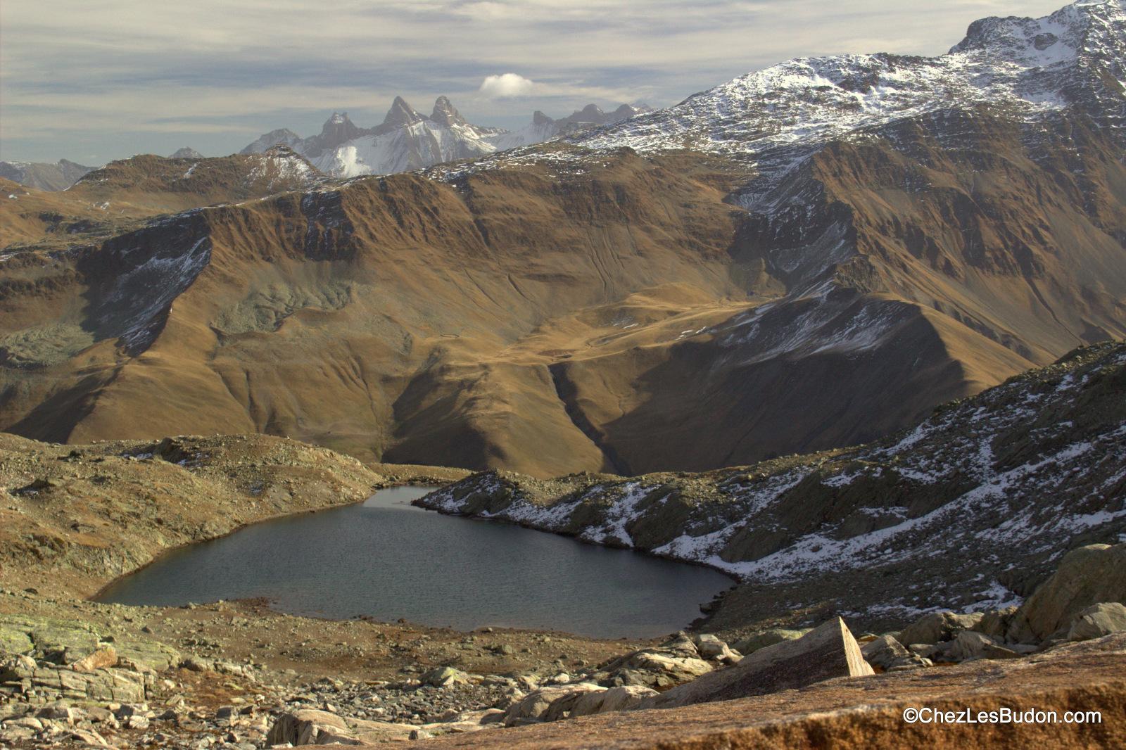 Lac de l'Ane (2417m) – Col de l'Agnelin (2638m)