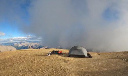 Bivouac au sommet du Mont Thabor (3178m)
